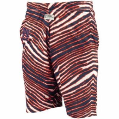 Zubaz ズバズ スポーツ用品  Auburn Tigers Navy Zubaz College Shorts