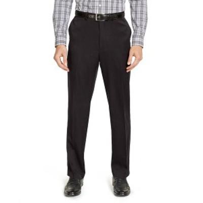 ドッカーズ メンズ カジュアルパンツ ボトムス Men's Classic-Fit Non-Iron Solid Dress Pants Black