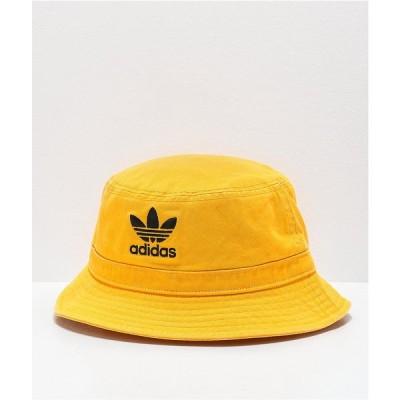 アディダス ADIDAS レディース ハット バケットハット 帽子 adidas Originals Washed Gold Bucket Hat Gold