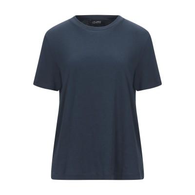 'S MAX MARA T シャツ ブルー S コットン 100% T シャツ