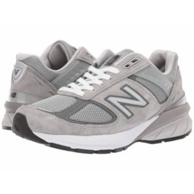 New Balance ニューバランス レディース 女性用 シューズ 靴 スニーカー 運動靴 Made in US 990v5 Grey/Castlerock【送料無料】