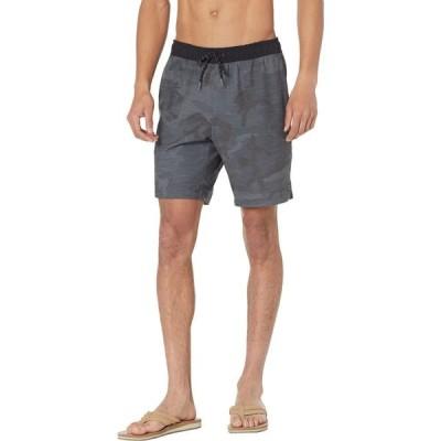 ビラボン Billabong メンズ ショートパンツ ボトムス・パンツ Crossfire Elastic 19' Hybrid Shorts Black Camo