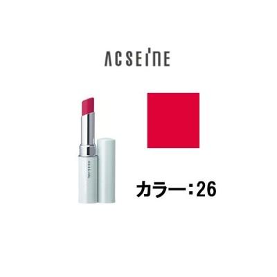 定形外は送料296円から トリートメント リップスティック PV 26 アクセーヌ ( acseine / 口紅 / ルージュ / )