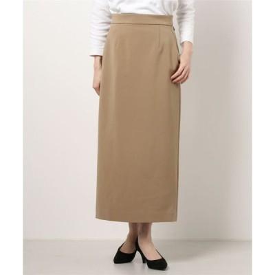 スカート ダブルクロスロングタイトスカート