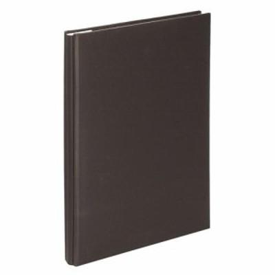 ナカバヤシ アH-A4F-142-D スウィートカラーズ 100年台紙アルバム A4サイズ ブラック