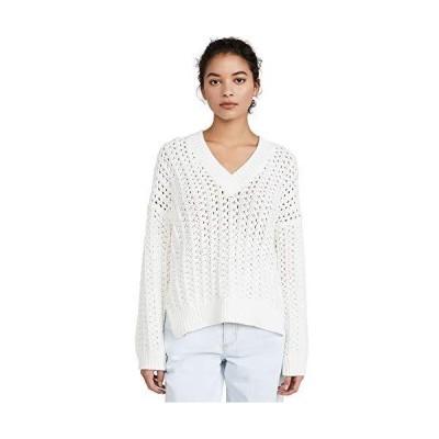 Joie Women's Sansa Sweater, Porcelain, White, Small並行輸入品 送料無料