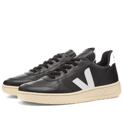 ヴェジャ Veja メンズ スニーカー シューズ・靴 V-10 Vegan Sneaker Black/White