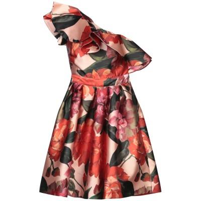 W LES FEMMES by BABYLON ミニワンピース&ドレス レッド 42 ナイロン 100% ミニワンピース&ドレス