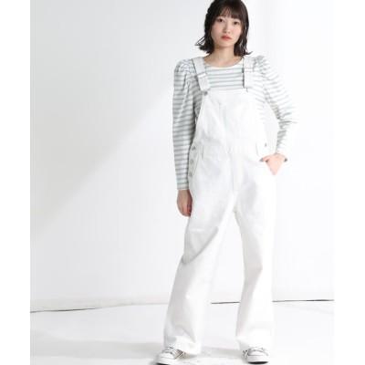 【ハニーズ】 オーバーオール レディース オフホワイト L Honeys
