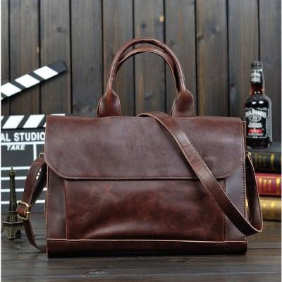 ビジネスバック メンズ トートバッグ リクルートバッグ ショルダーバッグ 大容量 通勤 就活 鞄 カバン 3WAY A4 新品