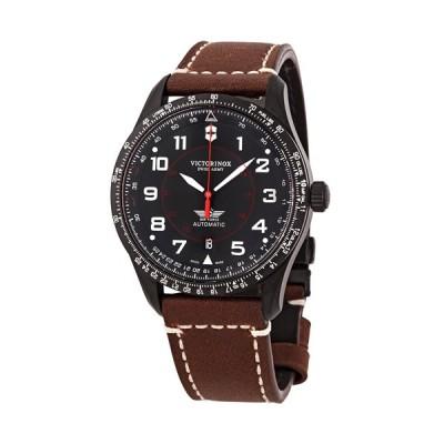ビクトリノックス/VICTORINOX/腕時計/Airboss/メンズ腕時計/241886/100m防水/ブラック×ブラウン