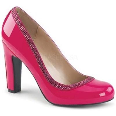 プリーザーピンクレーベル レディース サンダル シューズ Queen 04 Pump Hot Pink Patent