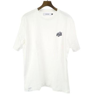 FPAR FORTY PERCENTS AGAINST RIGHTS フォーティーパーセント アゲインストライツ 20SS PROSPECTIVE SS 胸元刺繍Tシャツ ホワイト M メンズ