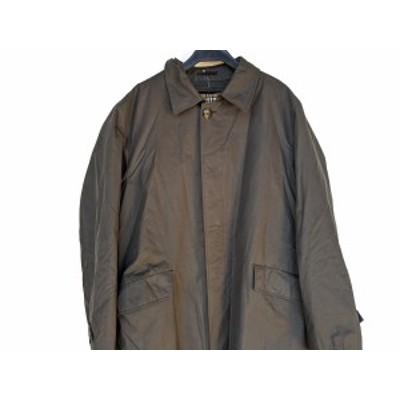 バーバリーロンドン Burberry LONDON コート サイズLL メンズ - 黒 長袖/冬【中古】20210115