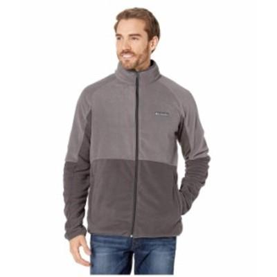 コロンビア メンズ コート アウター Basin Trail¢ Fleece Full Zip Jacket Shark/City Grey