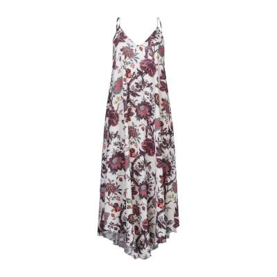 ALEX VIDAL 7分丈ワンピース・ドレス ベージュ 36 ポリエステル 97% / ポリウレタン 3% 7分丈ワンピース・ドレス
