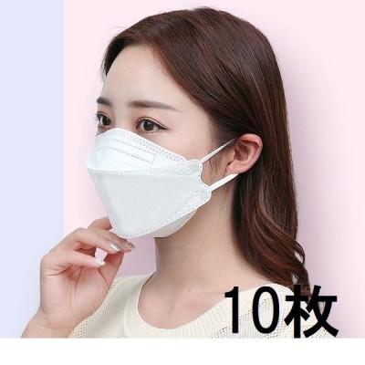 マスク 10枚セット 使い捨て 韓流タイプマスク 口紅が付かない 3Dマスク 不織布マスク フリーサイズ 男女兼用