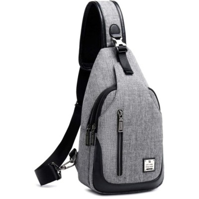 Tuowan ショルダーバッグ 斜め掛けバッグ メンズ 軽量撥水 大容量 iPad mini収納可能 多機能レジャーバックパック 旅行 通勤 通学