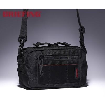 【選べるノベルティ付】 ブリーフィング ショルダーバッグ/ブラック メンズ MODULE WARE brl182204 BRIEFING