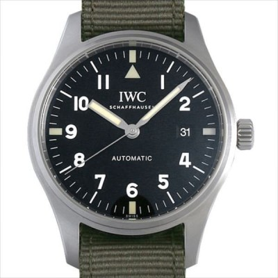 60回払いまで無金利 IWC パイロットウォッチ マーク18 トリビュートトゥマーク11 1948本限定 IW327007 中古 メンズ 腕時計
