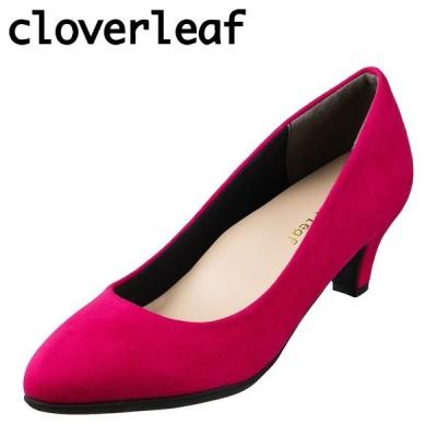 クローバーリーフ cloverleaf CL-9050 レディース | パンプス | ふわふわ インソール | 滑りにくい | ピンク
