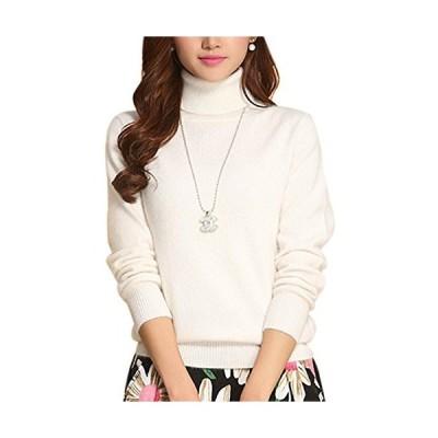 Tanming Women's Slim Fashion Turtleneck Long Sleeve Pullover Knit Sweaters