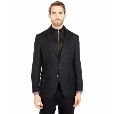 ロバートグラハム コート アウター メンズ Downhill XIV Woven Sportcoat Black