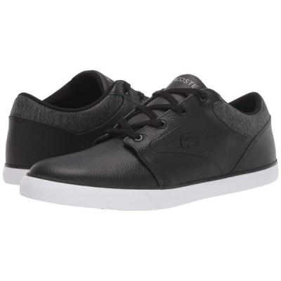 ラコステ Lacoste メンズ スニーカー シューズ・靴 Minzah 319 1 P CMA Black/White