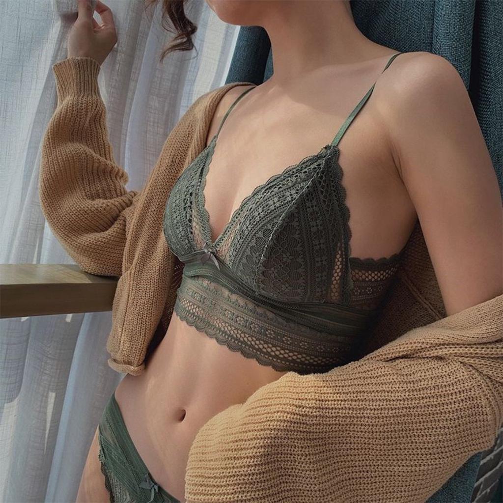 百貨專櫃品質 法式性感內衣 超薄蕾絲 大胸小胸都可駕馭 無鋼圈內衣 歐美內衣 大U美背設計 R35