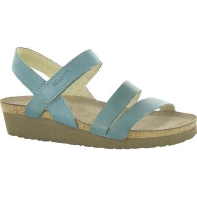 ナオト Naot レディース サンダル・ミュール シューズ・靴 Kayla Sandal Sea Green Leather