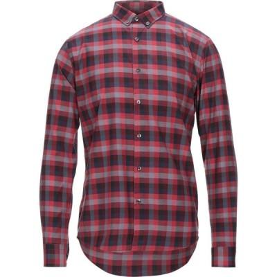プリモエンポリオ PRIMO EMPORIO メンズ シャツ トップス checked shirt Brick red