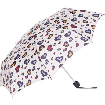 傘 折りたたみ 婦人 レディース FULTON フルトン 折りたたみ傘 Minilite no.2 Animal Heart オフホワイト