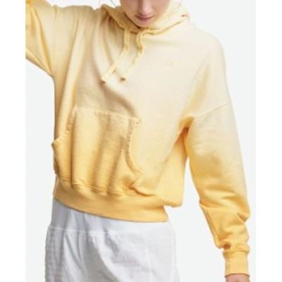 チャンピオン レディース シャツ トップス Women's Cropped OmbréHoodie Adobe Wall Tan Ombre