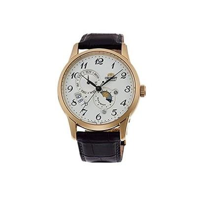 [オリエント時計] クラシック SUN&MOON アラビア 腕時計 機械式(手巻付) RA-AK0002S