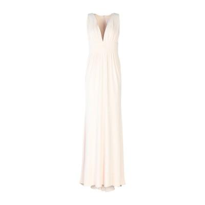 クシュニー・エ・オクス CUSHNIE ロングワンピース&ドレス ライトピンク 6 レーヨン 94% / ポリウレタン 6% ロングワンピース&ドレス