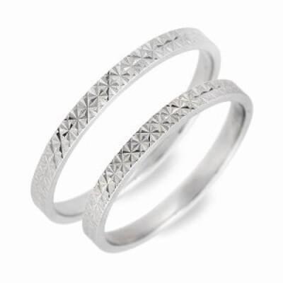 ペアリング 男性 女性 ブランド リング 指輪 ペア WISP ホワイトゴールド 誕生日プレゼント ギフト カップル 記念日 プレゼント