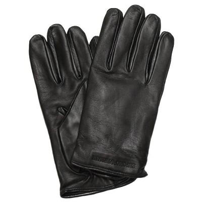 エンポリオ アルマーニ グローブ スマホ 手袋 メンズ レザー EMPORIO ARMANI 624136 7A200 00020
