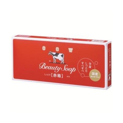 牛乳石鹸 カウブランド 赤箱 6個入 100G×6 固形石鹸