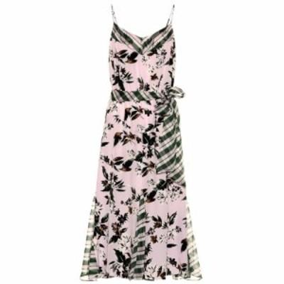 ダイアン フォン ファステンバーグ Diane von Furstenberg レディース ワンピース ワンピース・ドレス Ciella silk midi dress Caribean
