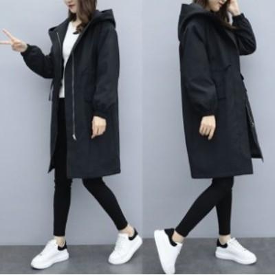コート ジャケット レディース アウター モッズコート 裏ボア フード付き デート シンプル カジュアル 大人可愛い オルチャン 韓国