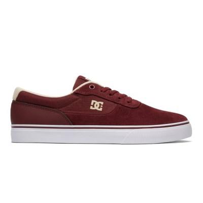 カジュアルシューズ ディーシーシューズ DC Shoes Switch S Skate Shoes ADYS300104 MAROON