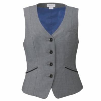 カーシーカシマ KARSEE 美スラッと(R) Suits2 ベスト EAV-582 5 グレー カーシー 春夏 秋冬 オフィスウェア 事務服