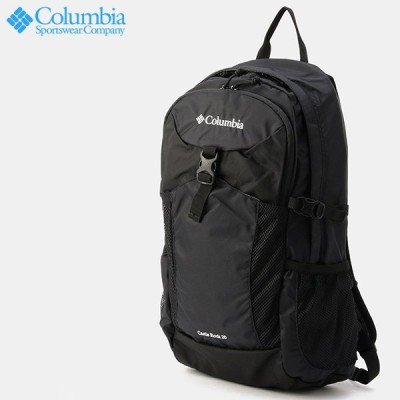 コロンビア キャッスルロック20Lバックパック Columbia Castle Rock 20L Backpack Black PU8428-010