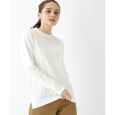 BASESTATION / 【WEB限定】長袖 ヘビーウェイトポケットTシャツ クルーネック WOMEN トップス > Tシャツ/カットソー