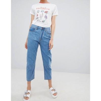 ライダー レディース ジーンズ・デニム ボトムス・パンツ Ryder Vintage Mom Fit Jeans Light wash