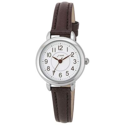 ベーシックで飽きのこないデザイン♪レザー調ベルト腕時計