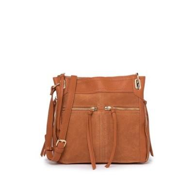 モーダラック レディース ショルダーバッグ バッグ Piper Zipper Crossbody Bag TAN