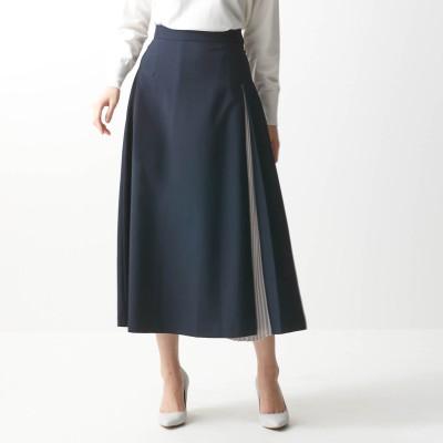 プリーツ使いロングスカート【セットアップ可】【TOKYO REAL CLOTHESコラボ】