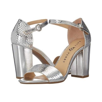 Katy Perry The Liz レディース ヒール パンプス Silver Hammered Emboss