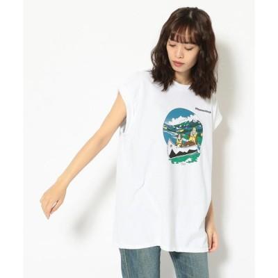 【ビーバー】MANASTASH/マナスタッシュ Ws CANOE CRUSING T ウィメンズカヌークルージングティー Tシャツ